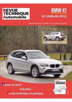 RTAB782 BMW X1 (E84) PHASE 1 18&20D 143/177 ch s/xDRIVE 07/09-05/12