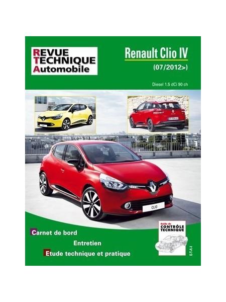 RTAB783 RENAULT CLIO IV DIESEL 1.5dCI 90 ch DEPUIS 07/2012