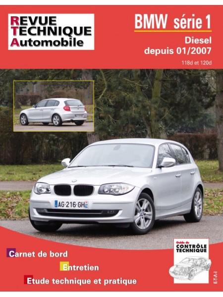 RTAB739 BMW SERIE 1 DIESEL DEPUIS 01/2007 - 118d et 120d