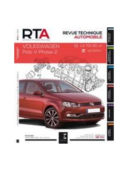 RTA807 VW POLO V PHASE 2 1.4 TDI DEPUIS 02/2014