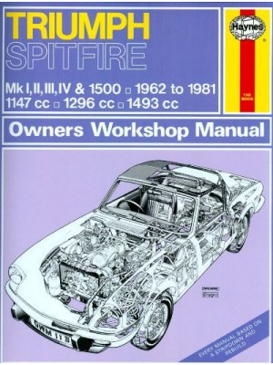 TRIUMPH SPITFIRE 62-81 MKI, II, III,IV & 1500 - OWNER WORKSHOP MANUAL