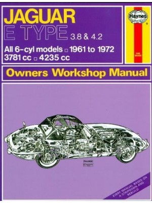 JAGUAR E TYPE 1961-72 - OWNERS WORKSHOP MANUAL
