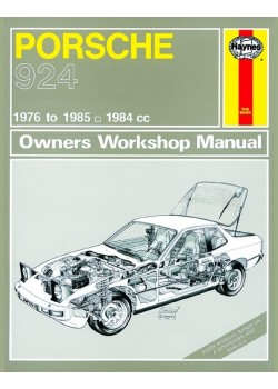PORSCHE 924 & 924 TURBO (76-85) - OWNERS WORKSHOP MANUAL