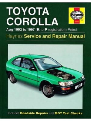 TOYOTA COROLLA PETROL 1992-97 - OWNERS WORKSHOP MANUAL