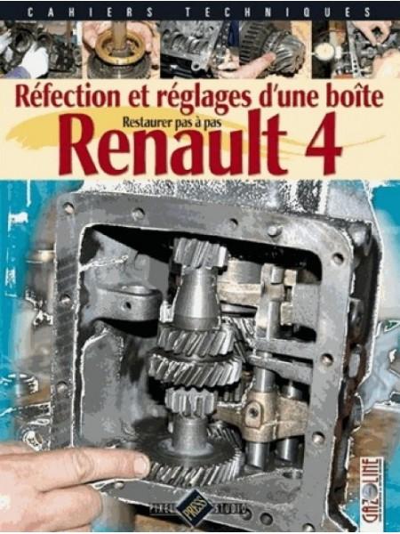 REFECTION ET REGLAGES D'UNE BOÎTE RENAULT 4