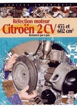 REFECTION MOTEUR CITROEN 2CV 435 & 602 cm3