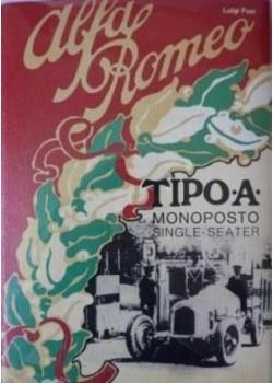 ALFA ROMEO MONOPOSTO TIPO A SINGLE SEATER