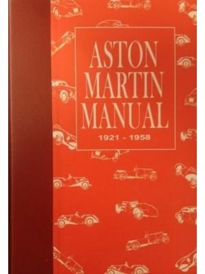 ASTON MARTIN MANUAL 1921-1958
