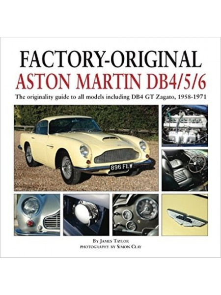 FACTORY ORIGINAL ASTON MARTIN DB 4/5/6