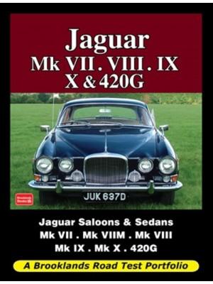 JAGUAR MK 7 , 8, 9, 10 & 420G ROAD TEST PORTFOLIO