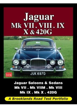 JAGUAR MK 7 , 8, 9, 10 & 420G ROAD TEST PORTFOLIO