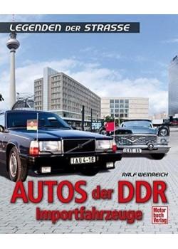 AUTOS DER DDR IMPORTFAHRZEUGE