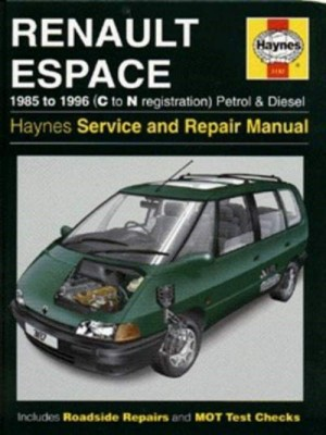 RENAULT ESPACE OWNER'S WORKSHOP MANUAL