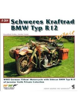 BMW TYP R12 SCHWERES KRAFTRAD IN DETAIL - WWP - Livre