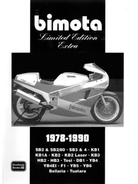 BIMOTA LTD ED. EXTRA 1978/90