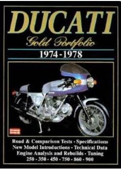 DUCATI GOLD PORTFOLIO 1974-1978