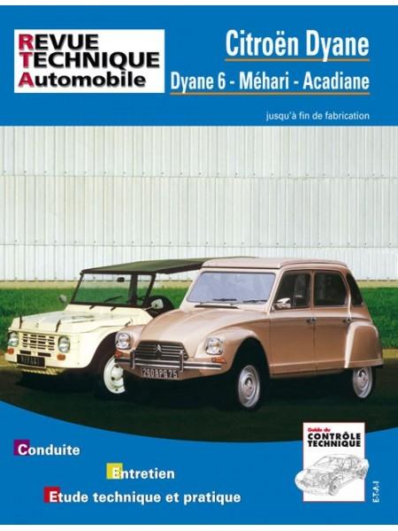 RTA279 DYANE DYANE6 MEHARI 1969-85