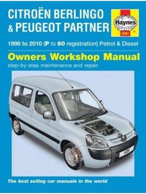 CITROEN BERLINGO OWNER'S WORKSHOP MANUAL