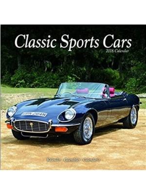 CALENDRIER 2018 CLASSIC SPORTS CARS