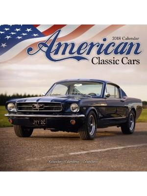 CALENDRIER 2018 AMERICAN CLASSIC CARS