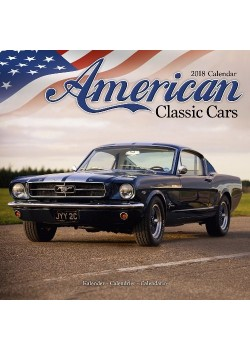 CALENDRIER 2018 AMERICAN CLASSIC CARS