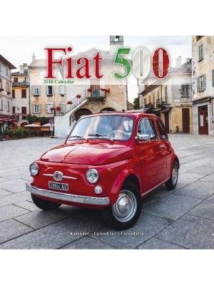 CALENDRIER 2018 FIAT 500