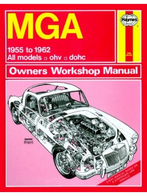 MGA 1955-62 - OWNERS WORSHOP MANUAL