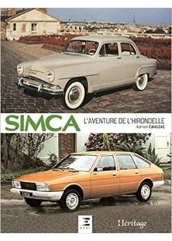 SIMCA L AVENTURE DE L HIRONDELLE - Livre de A. Cahuzac
