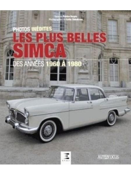 LES PLUS BELLES SIMCA DES ANNEES 1960 A 1980