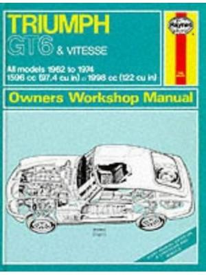 TRIUMPH GT6 & VITESSE 1962-74 - OWNERS WORSHOP MANUAL