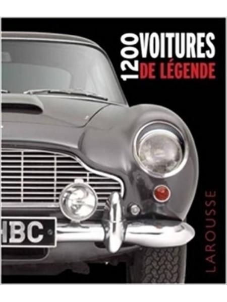 1200 voitures de legende - librairie passion automobile - paris, france