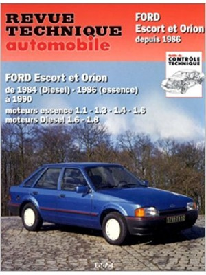 RTA736 FORD ESCORT ET ORION 1984-90