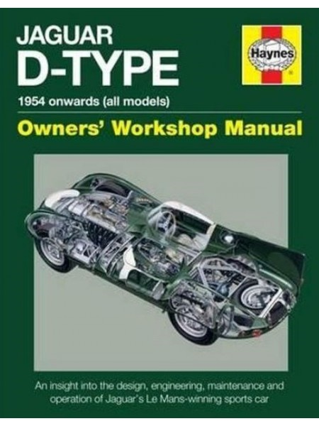 JAGUAR D-TYPE OWNER'S WORKSHOP MANUAL
