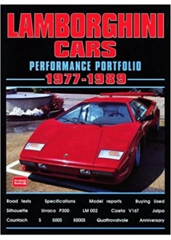 LAMBORGHINI CARS - PERFORMANCE PORTFOLIO 1977-89