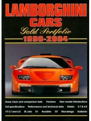 LAMBORGHINI CARS - GOLD PORTFOLIO 1990-2004 - Livre