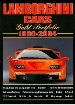 LAMBORGHINI CARS - GOLD PORTFOLIO 1990-2004