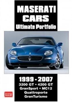 MASERATI CARS ULTIMATE PORTFOLIO 1999-2007 - Livre voitures Italiennes
