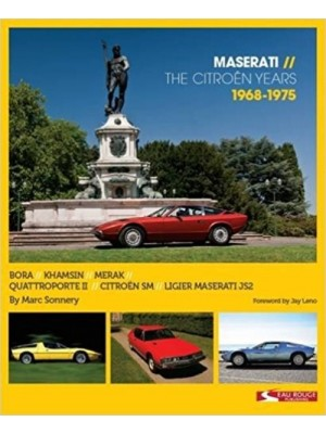 MASERATI - THE CITROEN YEARS - 1968-1975