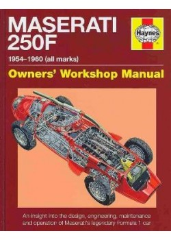 MASERATI 250F OWNER'S WORKSHOP MANUAL