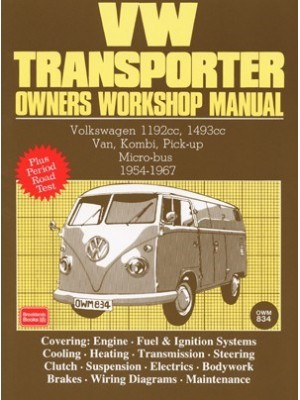 VW TRANSPORTER 1954-1967 - OWNER'S WORKSHOP MANUAL