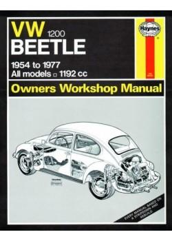 VW BEETLE 1200 PETROL 1954-77 - OWNERS WORKSHOP MANUAL