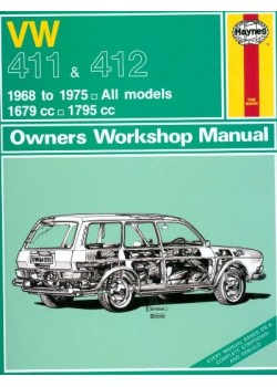 VW 411 & 412 1968-75 OWNERS WORKSHOP MANUAL OP