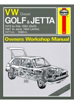 VW GOLF I & JETTA DIESEL 1978-84 - OWNERS WORKSHOP MANUAL