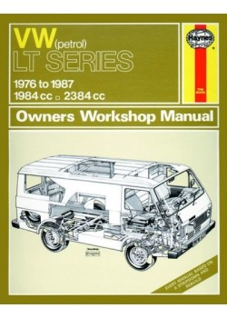 VW LT PETROL VANS & LIGHT TRUCKS 1976-87 - OWNERS WORKSHOP MANUAL