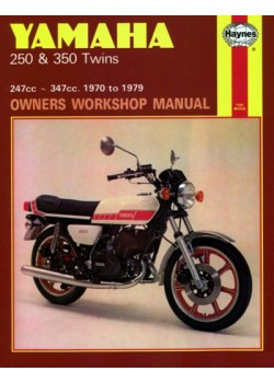 YAMAHA 250 & 350 TWINS 1970-79 - OWNERS WORKSHOP MANUAL
