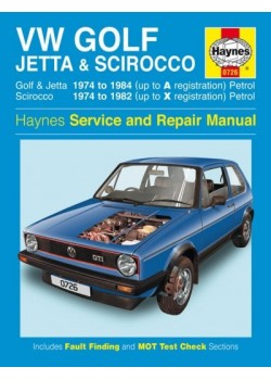 VW GOLF I, JETTA & SCIROCCO PETROL 1.5 1.6 & 1.8 1974-84 - OWNERS ...