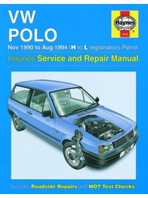 VW POLO PETROL & DIESEL 1994-99 - OWNERS WORKSHOP MANUAL
