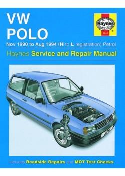 VW POLO PETROL & DIESEL 1994-99 - OWNERS WORKSHOP MANUAL