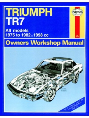 TRIUMPH TR7 1975-82 - OWNERS WORKSHOP MANUAL