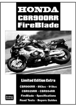 HONDA CBR900RR LIMITED ED.